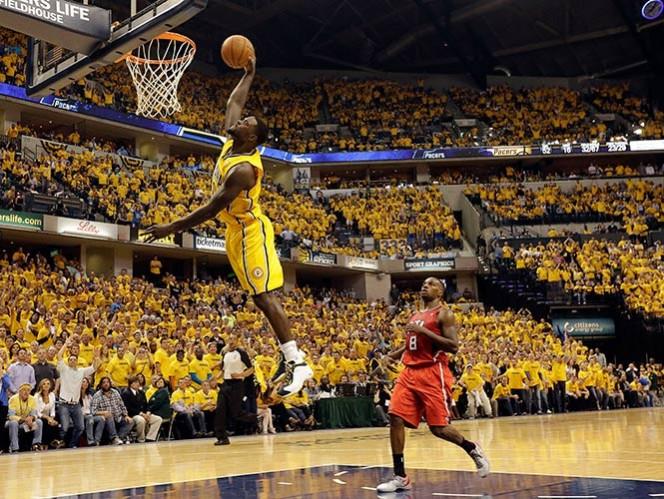 Pacers avanzan a la siguiente ronda de los playoffs de la NBA (AP)