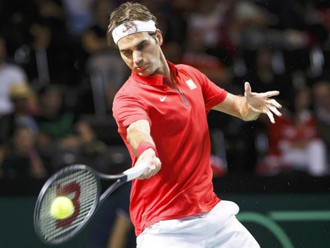 El tenista suizo le dio el pase a semifinales a su delegación con el triunfo de hoy (EFE)