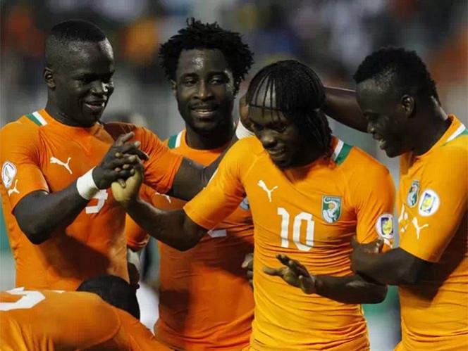 Costa de Marfil está instalada en el Grupo C junto a Grecia, Colombia y Japón (Reuters)
