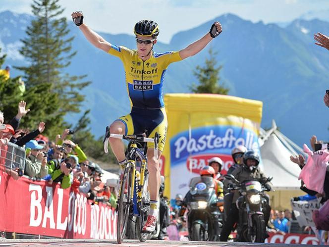 El ciclista australiano Michael Rogers obtuvo su segunda victoria en el Giro de Italia (AP)