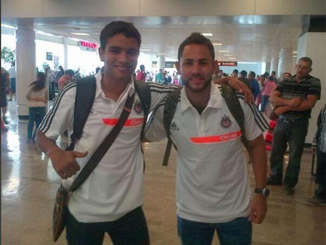 'Guamerucito' y Nápoles rerpotan con Chivas para viajar a territorio estadunidense (Foto @Chivas)