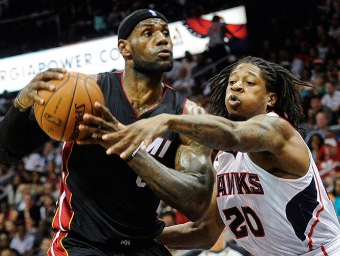 Atlanta consigue el último boleto a playoffs de la Conferencia Este al vencer al Heat (AP)