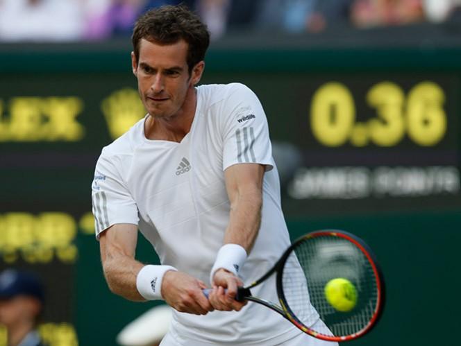 Murray se mantiene con vida en el torneo para defender su título (AP)