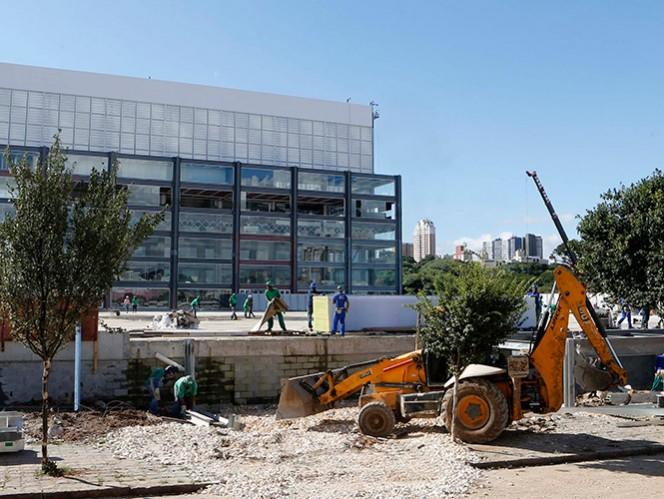 La Arena da Baixada es uno de los estadios retrasados y la FIFA espera que esté listo a mediados de mayo. (Reuters)