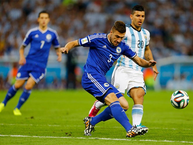 Jugada a jugada, las estadísticas del Argentina vs. Bosnia