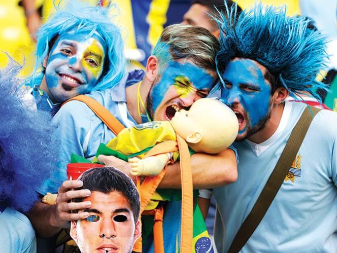 La FIFA reprime a afición celeste