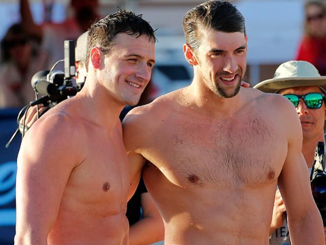 Michael Phelps y Ryan Lochte volverán a la actividad esta semana durante una competencia especial en Georgia. (AP)