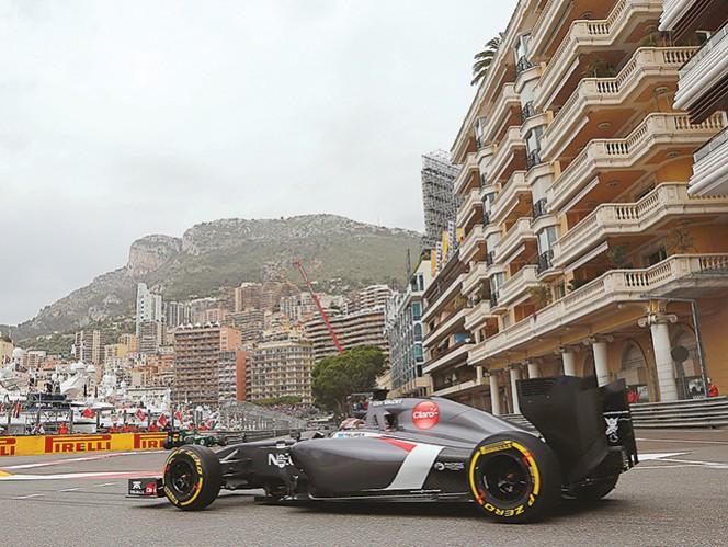 Adrian Sutil busca sus primeros puntos de la temporada en el Gran Premio de Mónaco. Fotos: AP