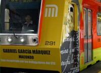 Noveno tren recuperado del Metro se llamará Gabriel García Márquez