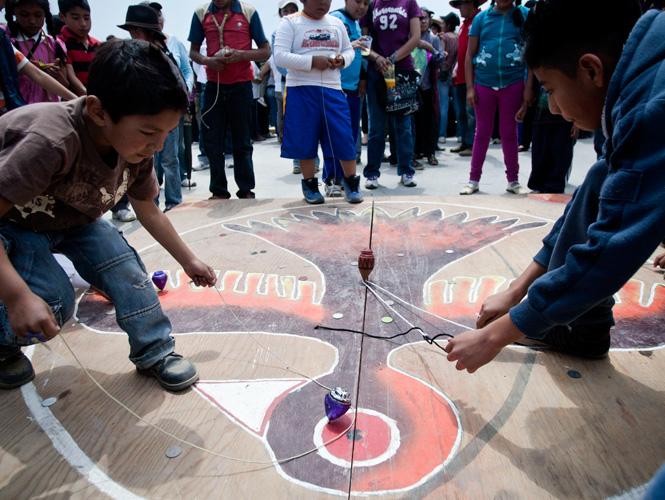 Realizan Encuentro De Juegos Autoctonos Y Tradicionales Del Df