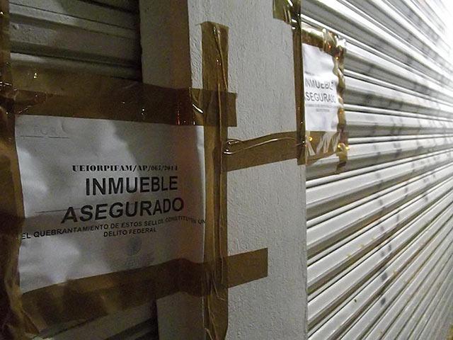 Sellan oficinas de Oceanografía en Coatzacoalcos