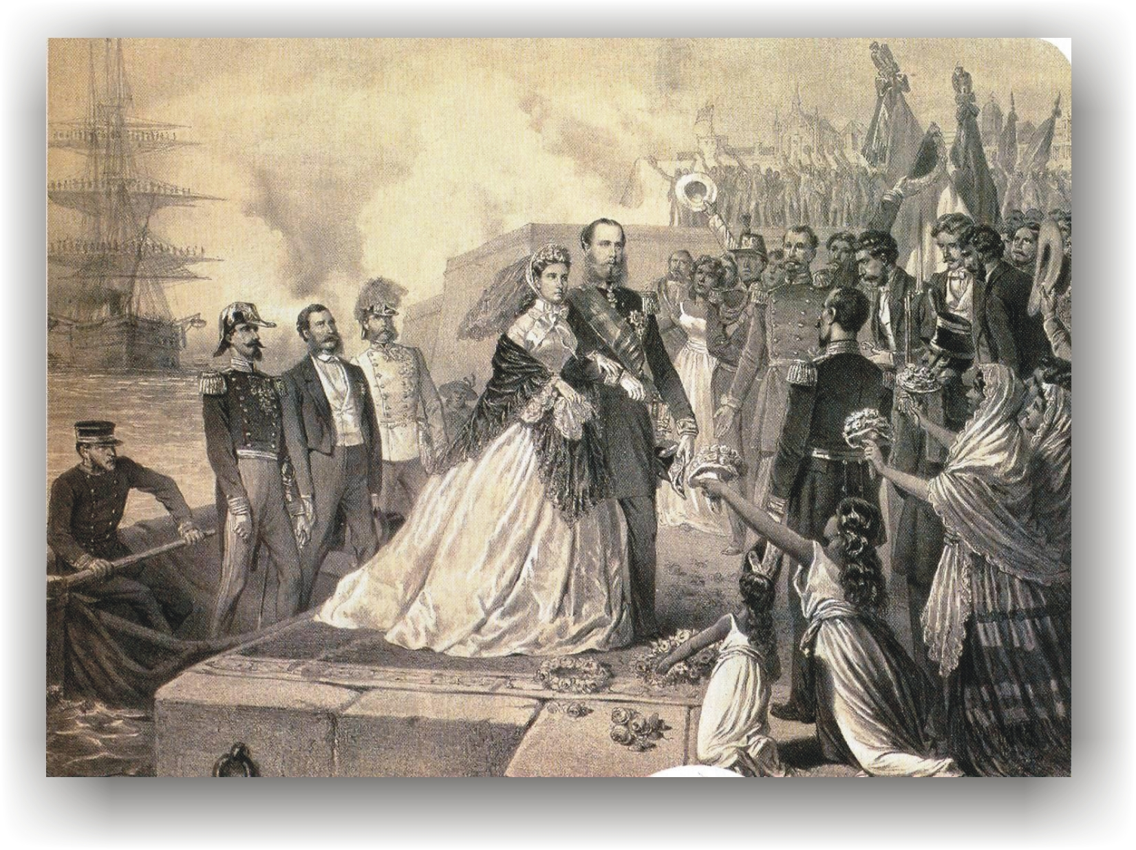 FOTOGALERÍA: Cuando Maximiliano se coronó emperador de México
