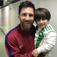 Sueño cumplido, hijo de Andrés Guardado conoce a Messi