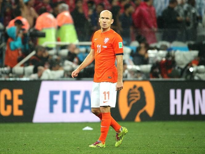 Robben fue uno de los más destacados de Inglaterra durante el Mundial. (EFE)