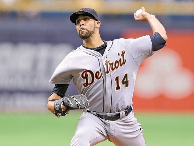 David Price lanzó por primera vez como en el Tropicana Field desde que dejó Tampa Bay para llegar a Tigres. Foto: AP