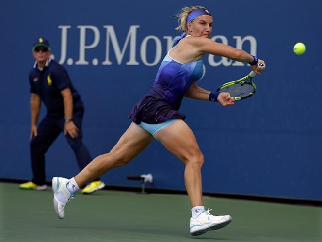 Erakovic se encuentra en el sitio 82 del escalafón de la WTA y concretó una de las sorpresas de la jornada. (AP)