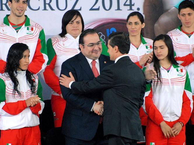 Todo listo en Veracruz para los JCC 2014, afirma Peña Nieto (Especial)