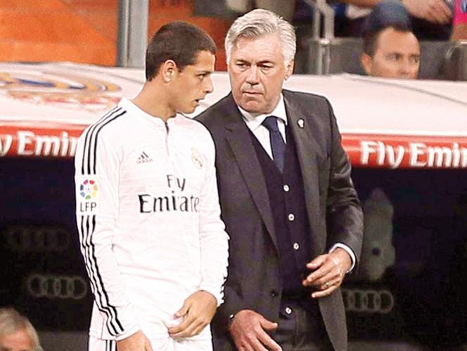 Carlo Ancelotti elogia a 'Chicharito' Hernández