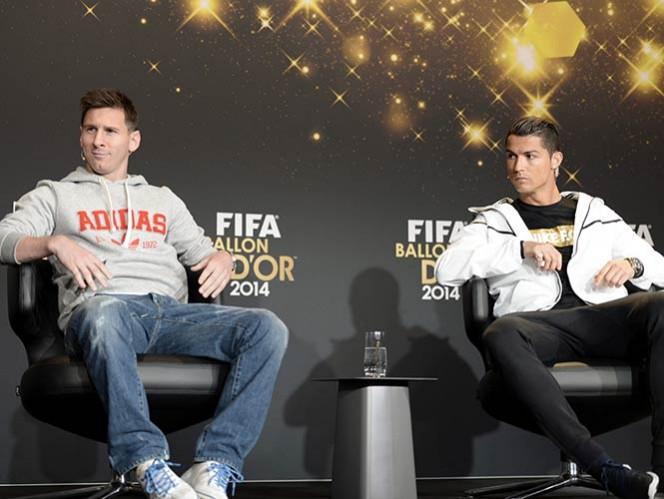 'Quiero alcanzar a Messi', anhela Cristiano Ronaldo