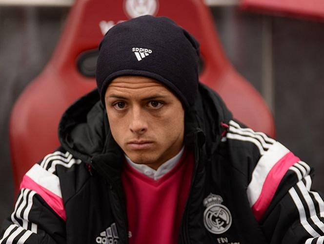 'Chicharito' no entrena con el Real Madrid