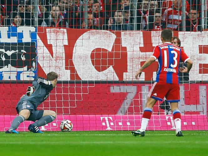 Desafortunado partido para el Bayern Múnich