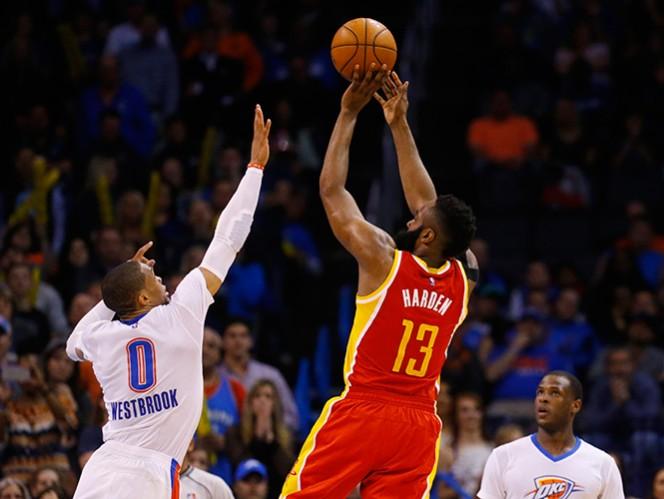 Harden pone 41 puntos en triunfo de Rockets; resumen NBA