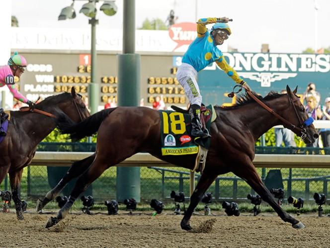 Jinete mexicano vuelve a ganar el Derby de Kentucky
