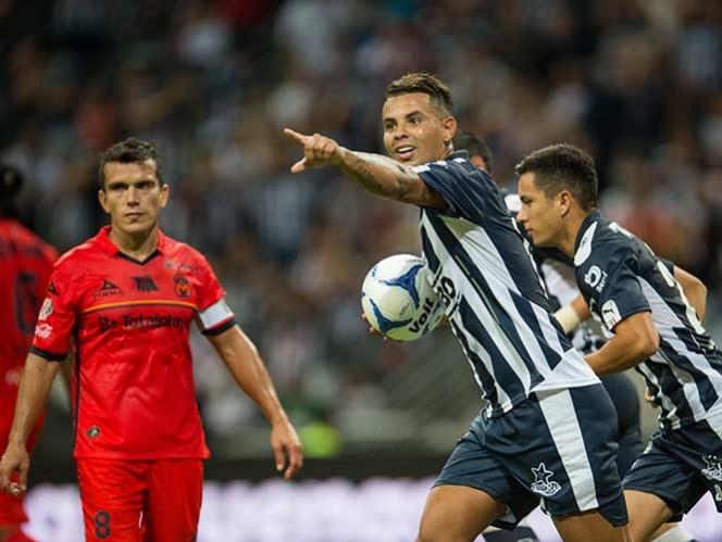Cardona cobró desde los 11 pasos para obtener el punto para Rayados (Mexsport)