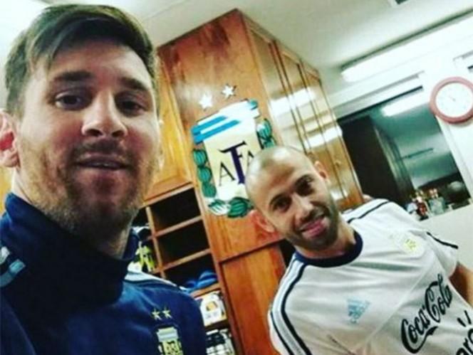 Messi y Mascherano se incorporan a la selección de Argentina