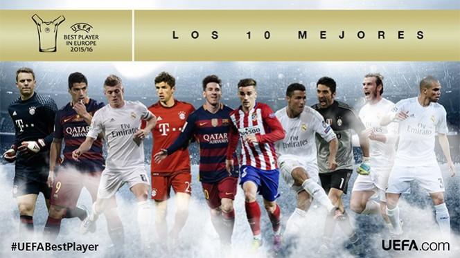 La selección fue hecha por medios de prensa de los 55 países afiliados a la UEFA. (@UEFAcom_es)