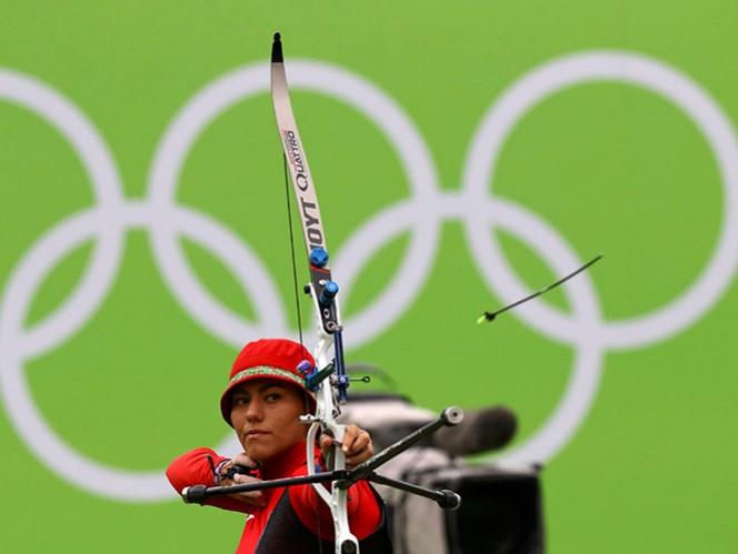 Con 'flecha de oro', Alejandra Valencia avanza a octavos de final de Tiro con Arco de los Juegos Olímpicos de Río 2016 (Fotos: Reuters)