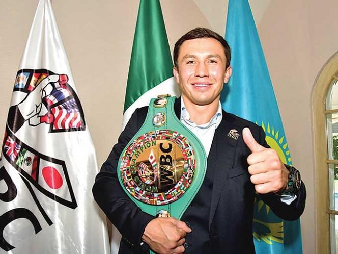Gennady Golovkin es campeón de cuatro organismos.