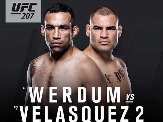 Caín Velásquez contra Fabricio Werdum en UFC 207 — Oficial
