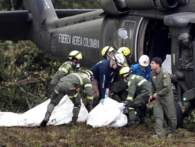 Hallan las dos cajas negras del avión de Chapecoense accidentado en Colombia