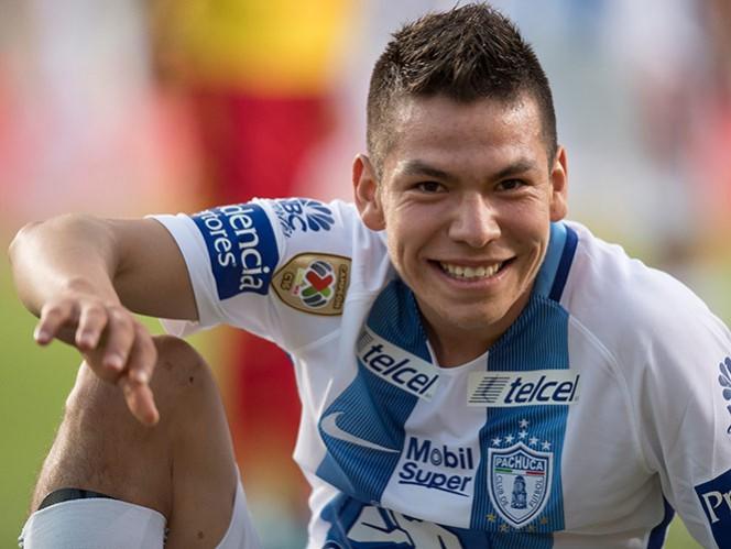 Hirving Lozano podría convertirse en el segundo canterano que Pachuca vende a un equipo europeo, después de la salida de Héctor Herrera al Porto (Mexsport)