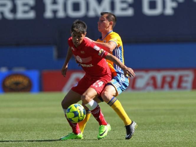 Tigres goleó a Toluca en partido amistoso