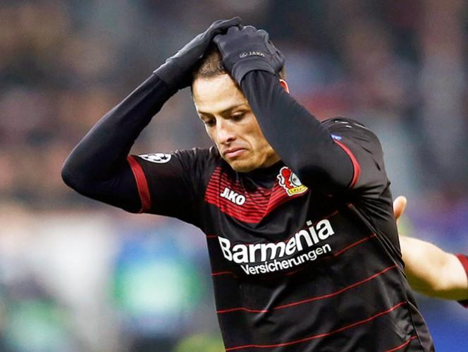 'Chicharito', descartado con Leverkusen ante el Bayern Múnich