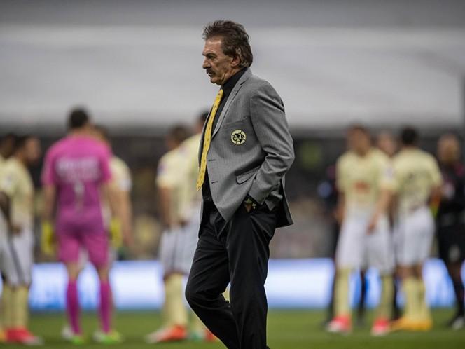 La Volpe aseguró irse agradecido por la oportunidad que le brindo la institución de dirigir a un equipo tan grande como lo es el América. (Mexsport)