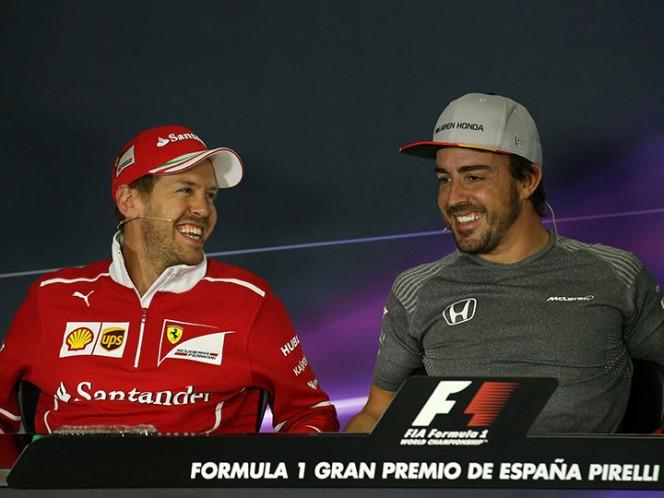 Hamilton celebró en Barcelona su segunda victoria de la temporada