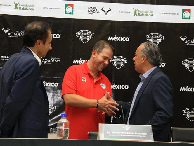Llega Rafa Nadal Tour a México
