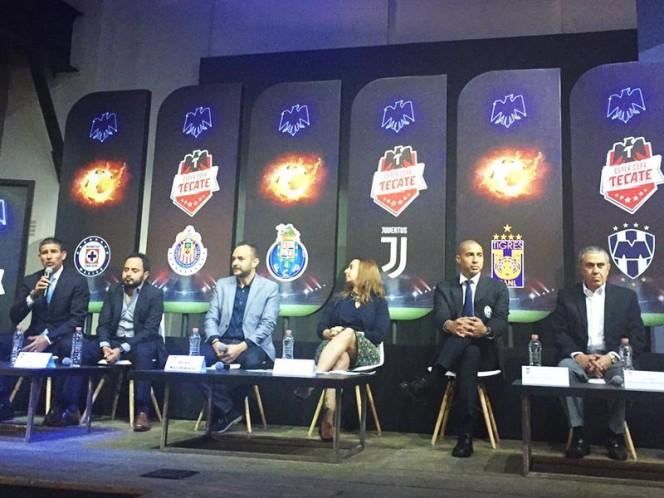 Oficial: Juventus y Porto vendrán a México en el verano