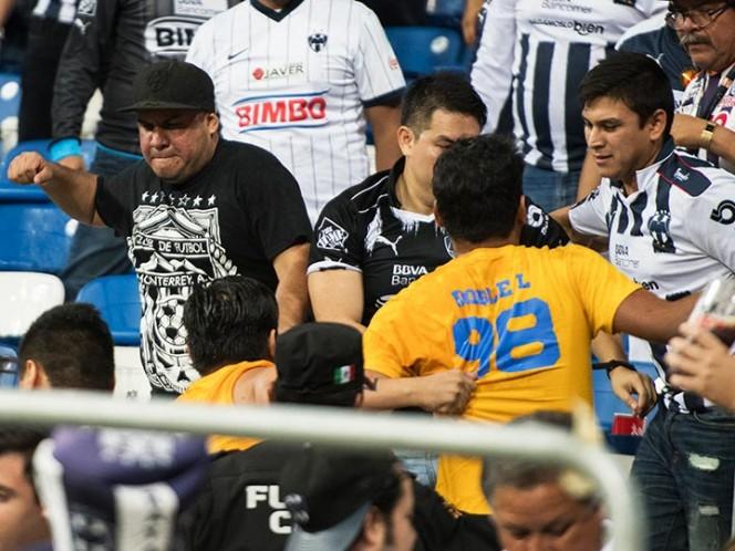 Vetan un partido al estadio de Monterrey por violencia