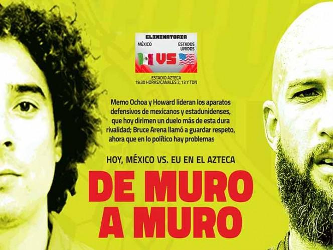 Estados Unidos le sacó un empate a México en el estadio Azteca
