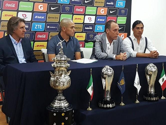 Verón se despidió de Pumas en el Olímpico Universitario