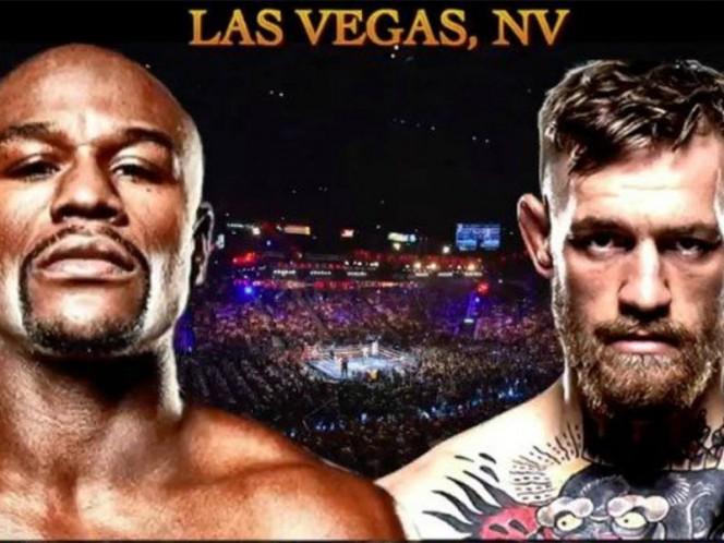 Mayweather, quien se retiró en septiembre de 2015, tras ganar todas sus 49 peleas, se las verá con la estrella irlandesa en la arena MGM Grand de Las Vegas. (Foto: twitter)