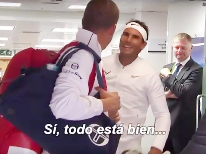 Nadal sigue adelante en Wimbledon, tras vencer a Khachanov