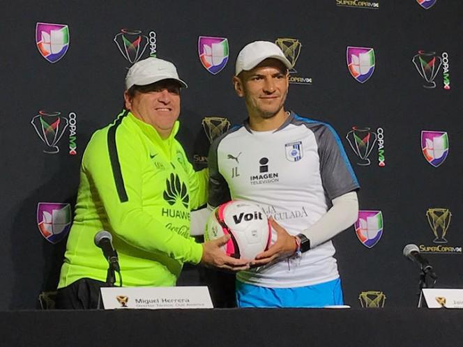 Piojo' y Lozano reparten ilusiones por ganar la Super Copa MX