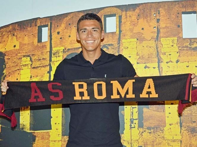 Roma le dio la bienvenida al mexicano Héctor Moreno