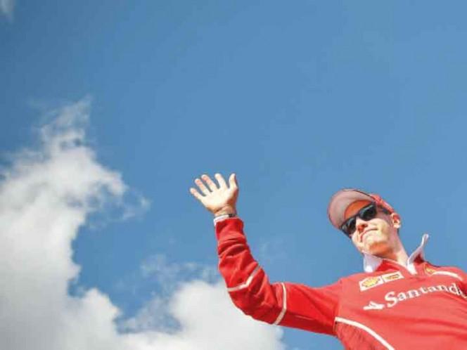 Ricciardo en los ensayos