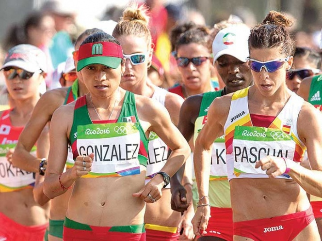 Lupita González fue medallista de plata en los Juegos de Río 2016 el domingo se estrena en un Mundial